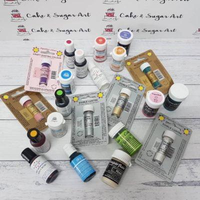 Colourings - Gel Pastes & Powders & Paints
