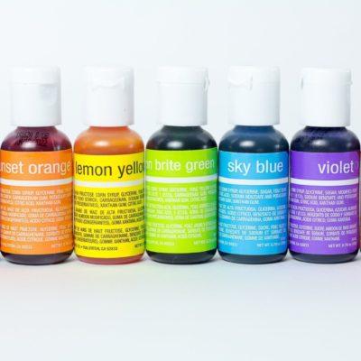 Gel Colours & Sugar Art Pens
